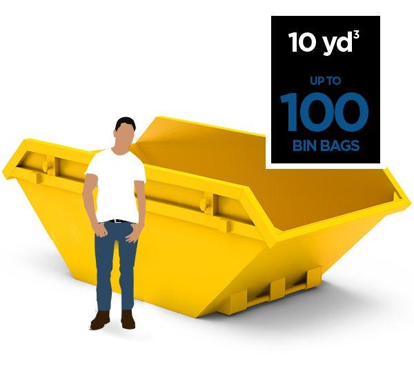 10 yd 100 bin bags